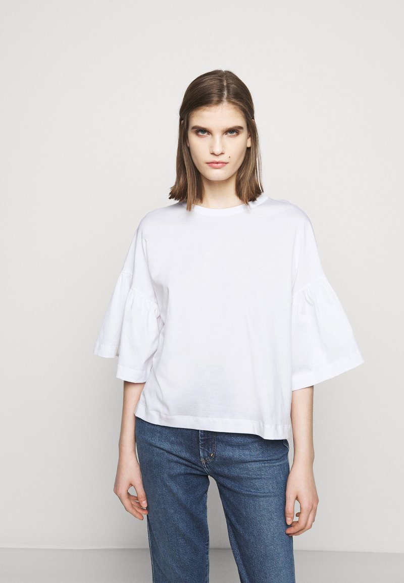 DRYKORN - FIMONI - Print T-shirt - weiss