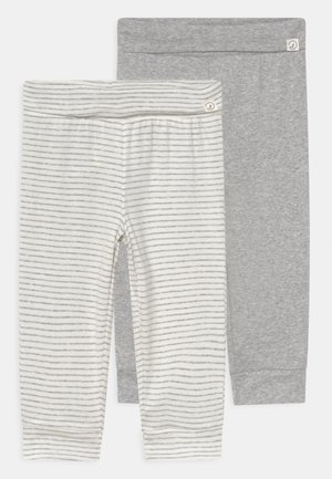 FOLD OVER PANT 2 PACK UNISEX - Broek - mottled grey