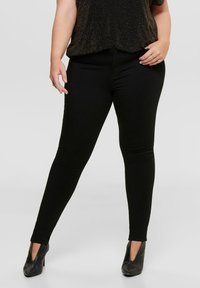 ONLY Carmakoma - CARGLORIA 4EVER - Jeans Skinny Fit - black - 0