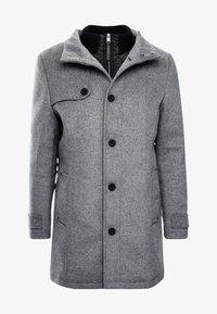 TOM TAILOR - COAT 2 IN 1 - Classic coat - mid grey - 4