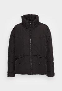 PCFREEDA SHORT OVERSIZE PUFFER JACKET - Winter jacket - black