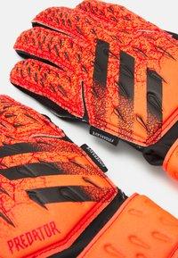 adidas Performance - UNISEX - Goalkeeping gloves - solar red/red/black - 2