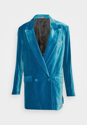 WOMENS JACKET - Krátký kabát - blue