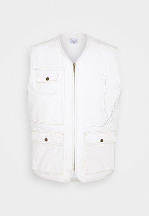 SIGNATURE UTILITY VEST UNISEX - Smanicato - off white