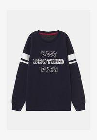 Lemon Beret - BOYS  - Sweatshirt - navy blazer - 0