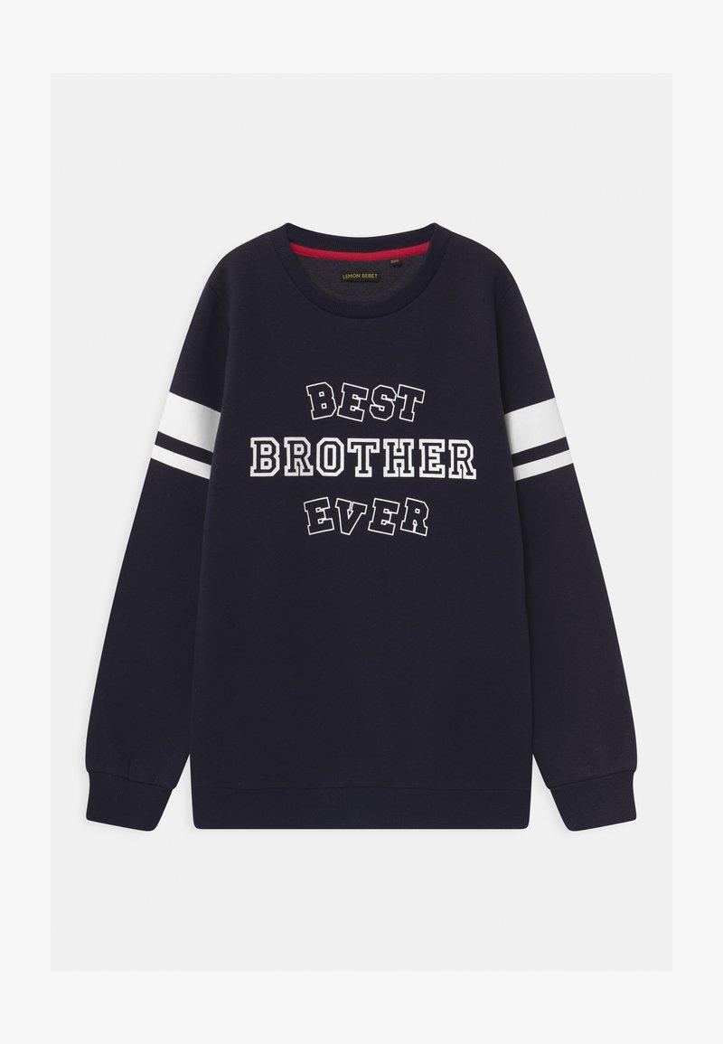 Lemon Beret - BOYS  - Sweatshirt - navy blazer