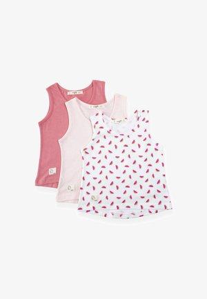 3 PACK SLEEVE TEE - Hemd - light pink