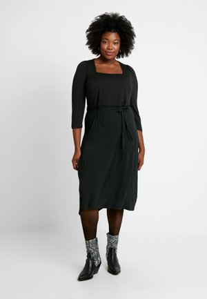 3/4 SLEEVE MIDI - Jersey dress - green