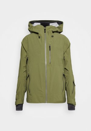 OUTLAW - Ski jacket - martini olive/olive night/ebony