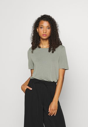 OBJANNIE SEASONAL - T-shirt basic - mint