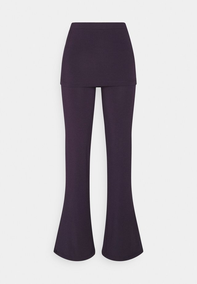 PANTS SKIRT - Trainingsbroek - dark aubergine