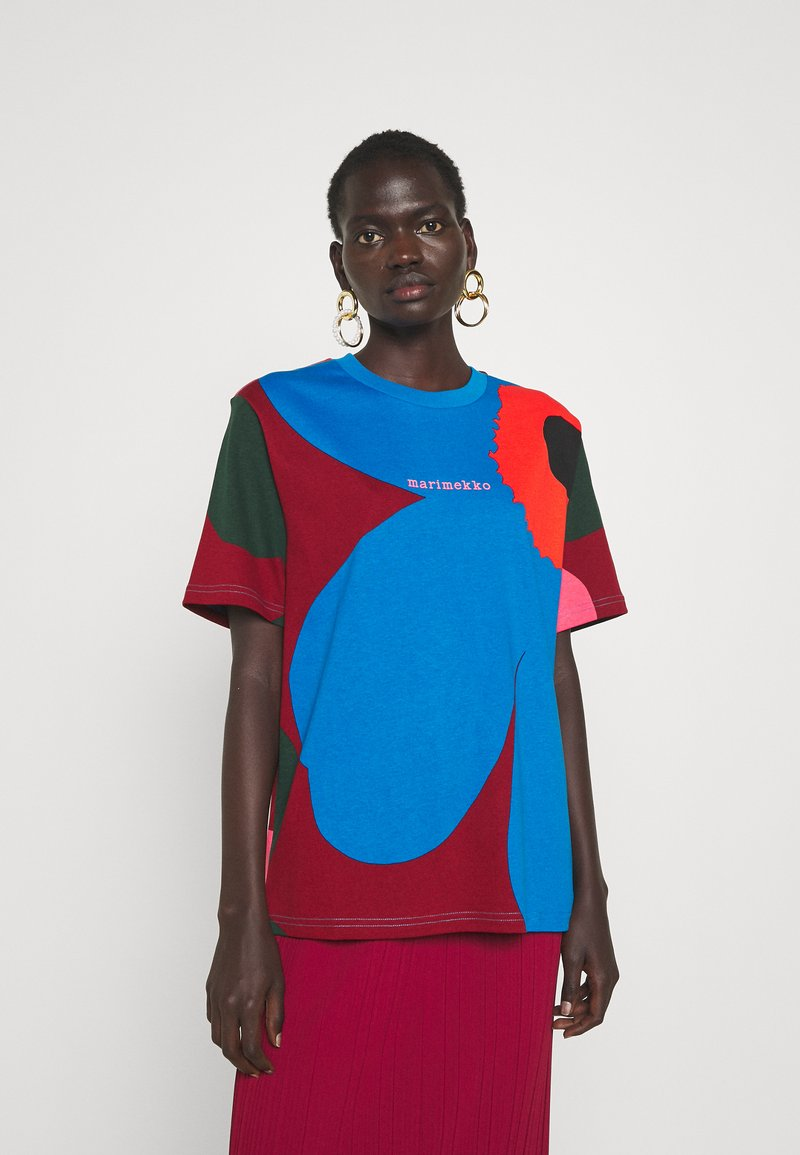 Marimekko - CREATED KARKELIT UNIKKO - Print T-shirt - multicolored