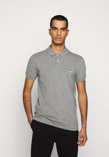 MENS SLIM FIT - Polo shirt - mottled grey