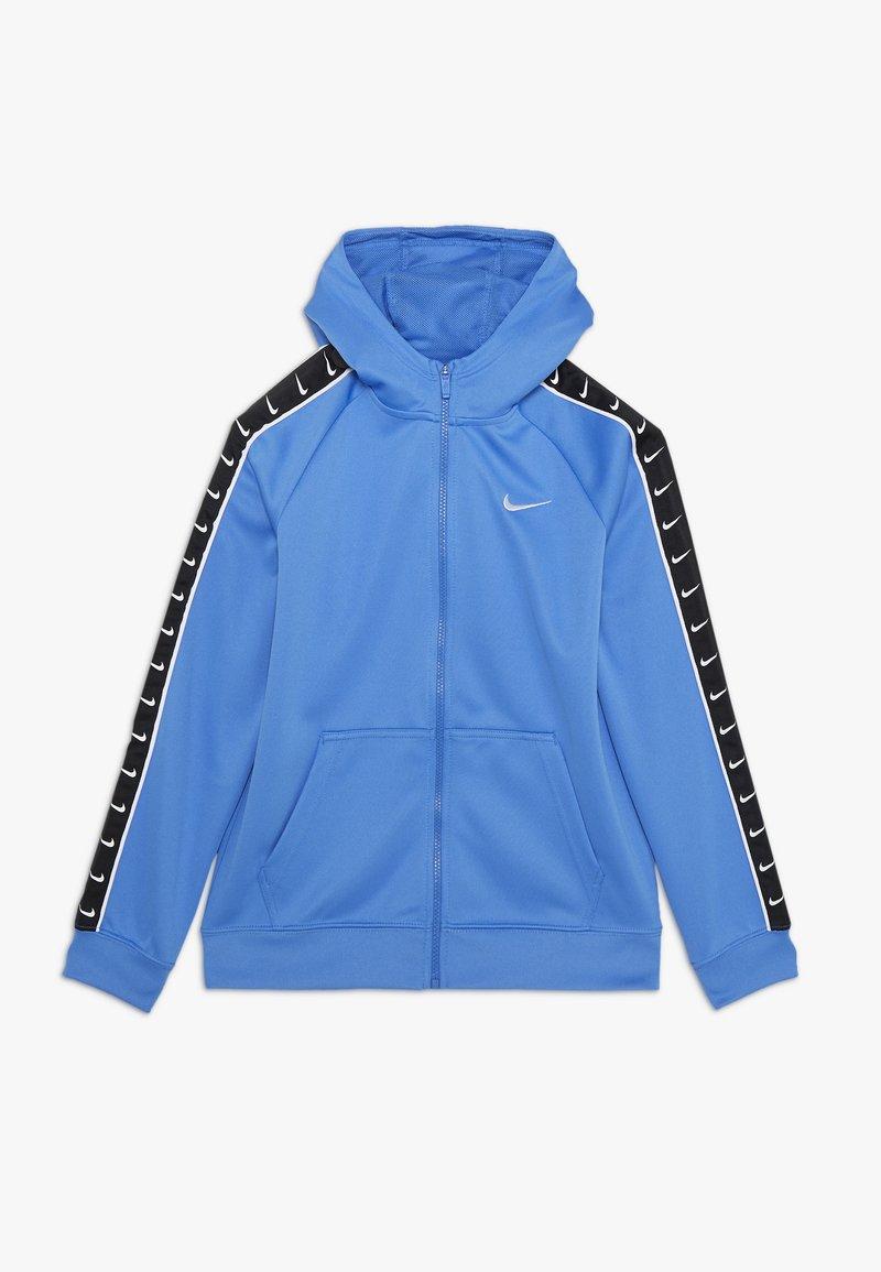 Nike Sportswear - HOODY TAPE - Zip-up hoodie - pacific blue