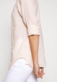 Lauren Ralph Lauren - TISSUE - Button-down blouse - pink/cream - 7