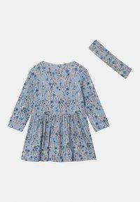 Name it - NBFTESSIE SET - Jersey dress - dusty blue - 1