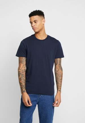 THE ORGANIC TEE BASIC - T-Shirt basic - navy blazer