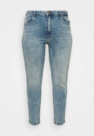 CARENEDA MOM - Straight leg jeans - light blue denim