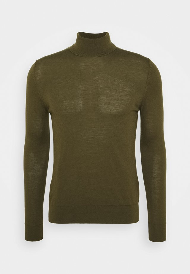 FLEMMING TURTLE NECK - Jumper - dark olive