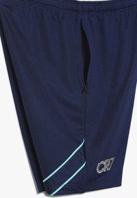 Nike Performance - CR7 DRY SHORT  - Krótkie spodenki sportowe - blue void/hyper jade/metallic silver - 3
