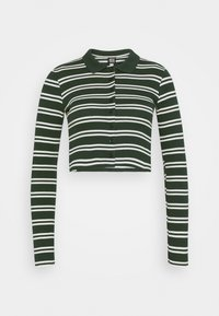 BDG Urban Outfitters - STRIPED CARDI - Long sleeved top - green - 0