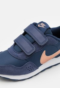 Nike Sportswear - VALIANT UNISEX - Baskets basses - midnight navy/metallic red bronze/white - 5