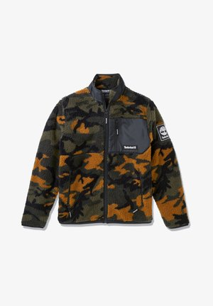 CAMO SHERPA FLEECE - Overgangsjakker - duffel bag/wheat boot house camo-black