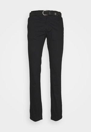 POBELT - Pantalones chinos - noir