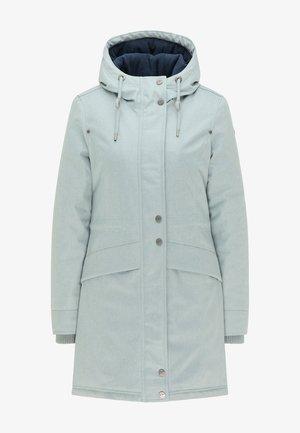 Płaszcz zimowy - rauchmint melange
