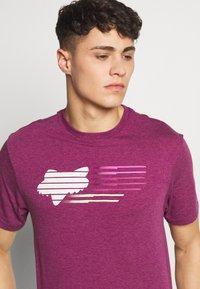 Fox Racing - LIGHTSPEED HEAD TECH TEE  - Funktionsshirt - purple - 4