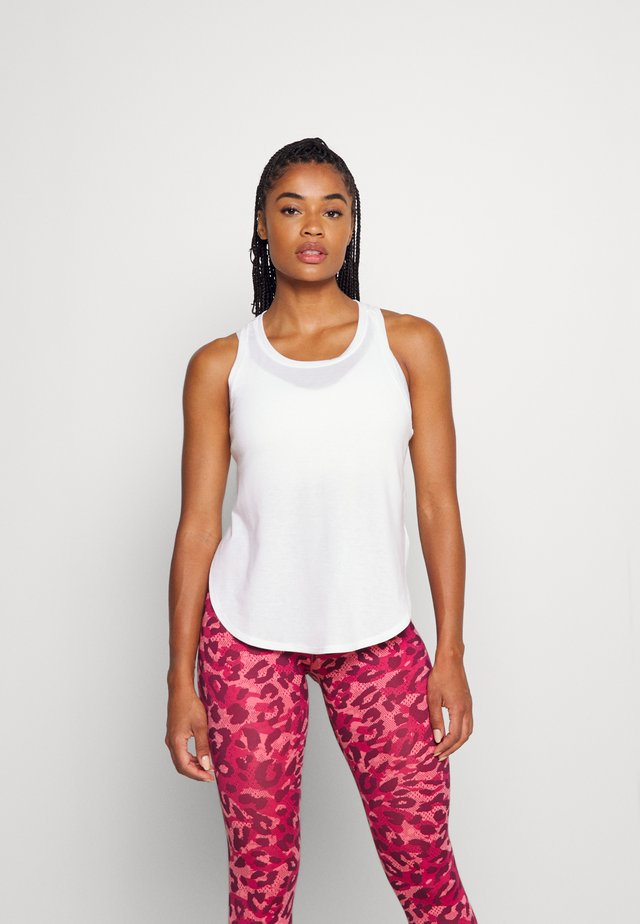 DRY HIGH LOW TANK - Top - optic white