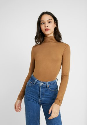 Long sleeved top - toasted coconut
