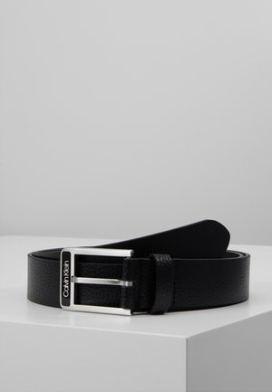 35MM ENAMEL BUCKLE  BELT - Belt - black