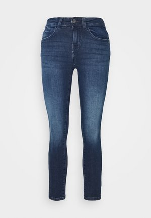 NMLUCY - Vaqueros pitillo - dark blue denim