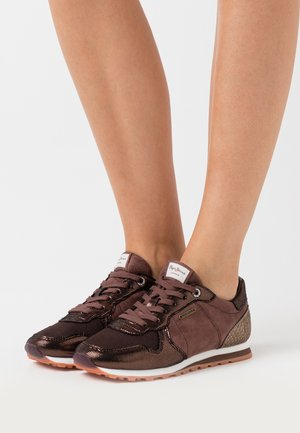 VERONA TOP - Zapatillas - dark mocca