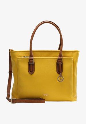 HENKELTASCHE GENNY - Handbag - lemon