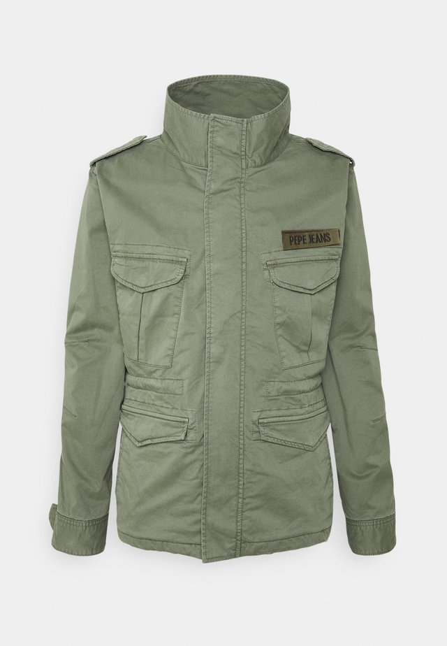 STROUDE - Chaqueta fina - forest green