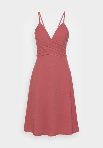 LILLIANA FLARE MIDI DRESS - Vestito elegante - dusty rose pink