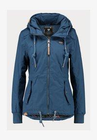 Ragwear - DANKA - Kort kåpe / frakk - blue - 3