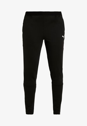 LIGA TRAINING PANTS  - Verryttelyhousut - black/white