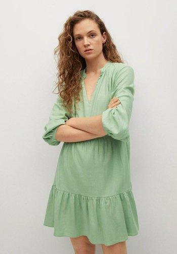 Day dress - zielony