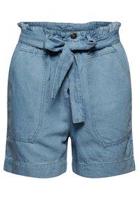 Esprit - Denim shorts - blue light washed - 10
