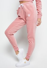 SIKSILK - Tracksuit bottoms - pink - 2