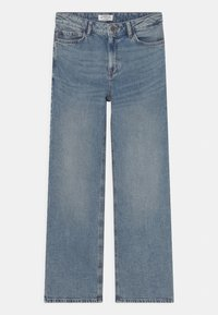 Lindex - WIDE LALEH - Jeansy Relaxed Fit - blue denim - 0
