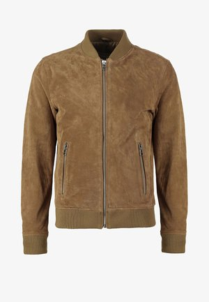 TED - Leather jacket - cognac