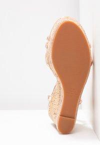 Office - HONCHO - Sandály na vysokém podpatku - rose gold - 6