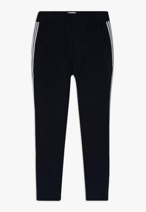 FOLKE POLONI TAPE - Trousers - navy