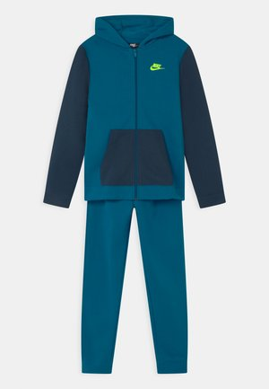 CORE SET - Tracksuit - green abyss/deep ocean/volt