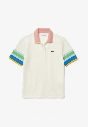 Polo shirt - blanc / jaune / bleu / turquoise / vert