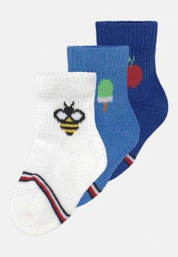BABY NEWBORN GIFTBOX 3 PACK UNISEX - Socks - blue